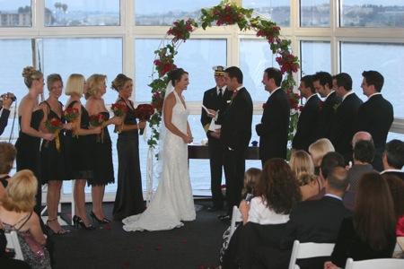 boda en un yate 4