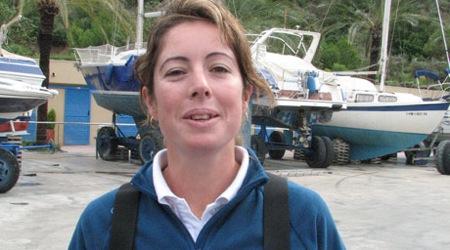 Maria Torrijo, juez- arbitro oficial de la competición.