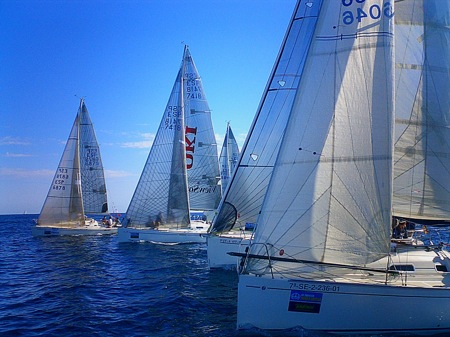 Eventos náuticos en Barcelona. SBR Events & Incentives. Grupo Navega