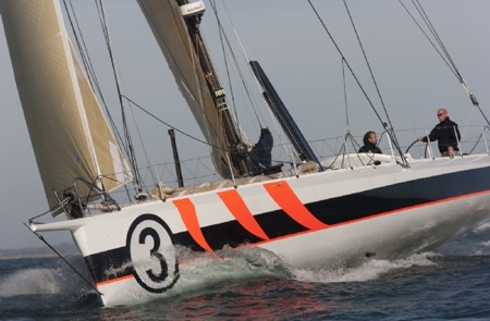 Mike Golding Yacht Racing with Bubi Sanso