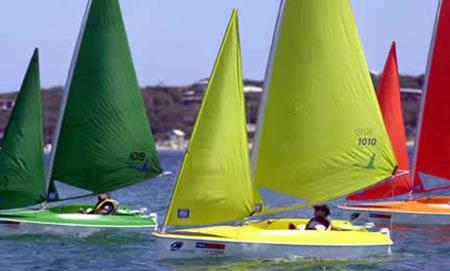 Barcos de vela ligera, Open International de Barcelona.