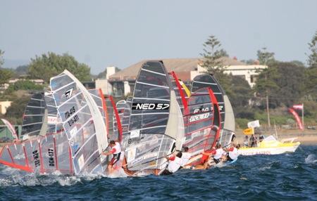 formula windsurfing. Grupo Navega