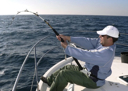 Pesca de altura curricán. Trofeo de Denia.