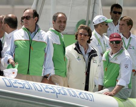 España en la America´s Cup Valencia. Grupo Navega