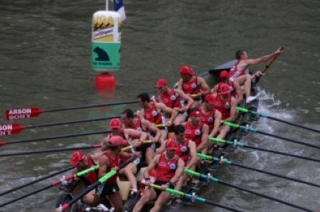 Campeonato de Euskadi de traineras en Hondarribia.