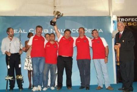 ganadores del trofeo de la ciudad de denia de pesca de altura