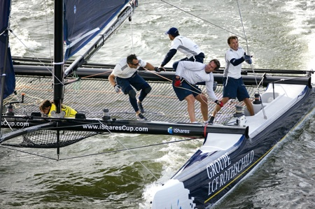 iShares Cup-Amsterdam -  Round 5 , 25/27 September 2009.