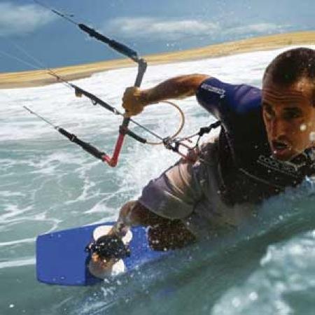 kitesurf. Grupo Navega