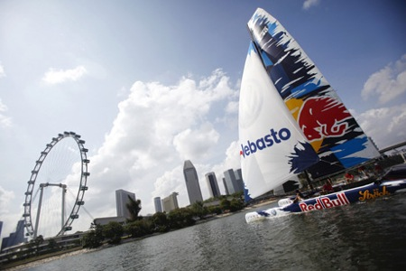 Red Bull Extreme Sailing Big Boat