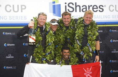 iShares Cup at Cowes Week  -  Round 3 , UK, 1-3  August 2009.